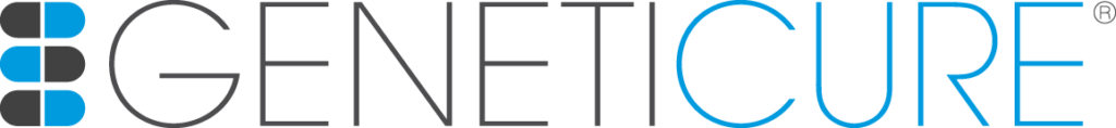 Geneticure logo Geo-Med